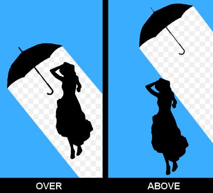 above และ over ในภาษาอังกฤษ